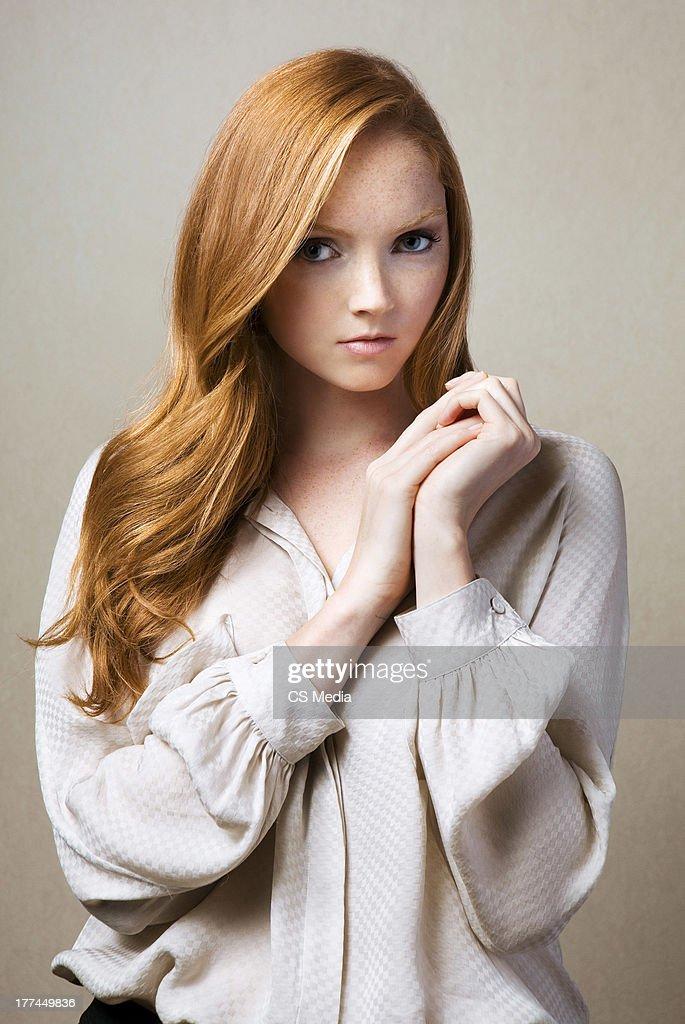 Lily Cole, Portrait shoot, September 17, 2009
