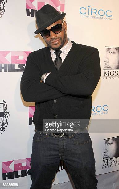 Model and actor Tyson Beckford attends the album release party for In a Perfect World at Pink Elephant on March 24 2009 in New York City