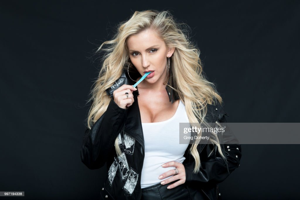 Model and Actress Amanda Paris attends the Giveback Day at The Artists Project on July 11, 2018 in Los Angeles, California.