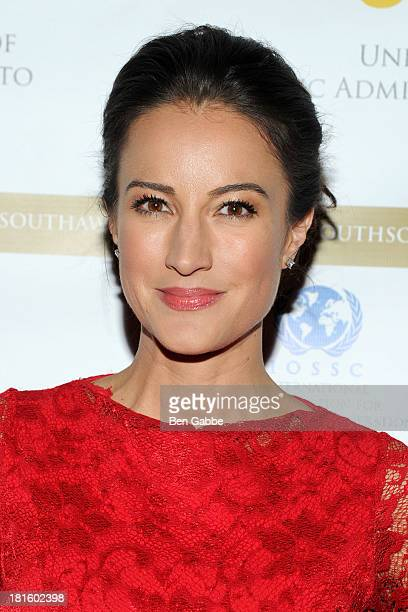 Model and actress America Olivo attends the 2013 SouthSouth Awards at The Waldorf=Astoria on September 22 2013 in New York City