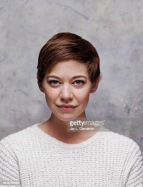 Model and actress Analeigh Tipton is photographed for Los Angeles Times on January 24 2015 in Park City Utah PUBLISHED IMAGE CREDIT MUST READ Jay L...
