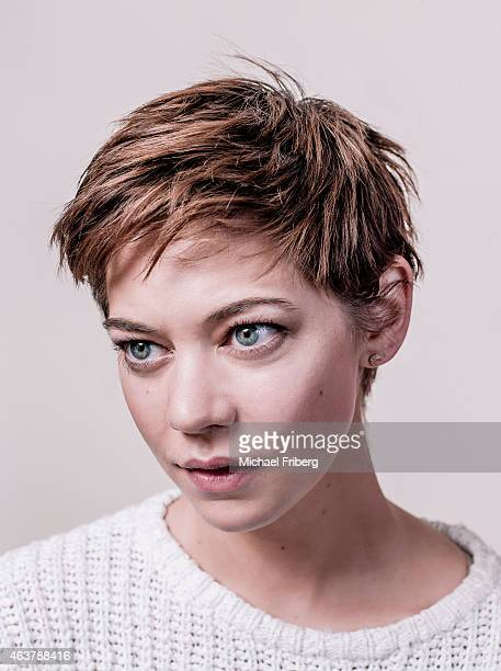 Model and actress Analeigh Tipton is photographed for Variety on February 3 2015 in Park City Utah