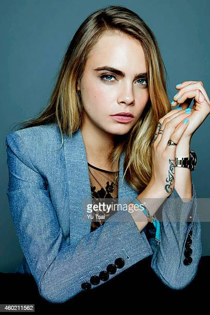 Model and actress Cara Delevingne is photographed for Variety on September 6 2014 in Toronto Ontario