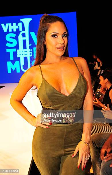 Model and actress Carissa Rosario attends Art Hearts Fashion LAFW Fall/Winter 2016 at Taglyan Cultural Complex on March 16, 2016 in Hollywood,...