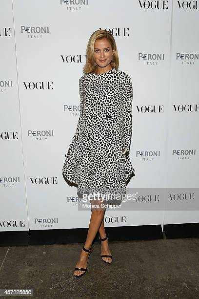 Model and actress Carolyn Murphy attends the Vogue Italia Opening Night Exhibition at Industria Studios on October 14 2014 in New York City