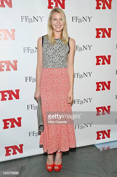 Model and actress Dree Hemingway attends the 25th Annual Footwear News Achievement Awards at the Museum of Modern Art on November 29, 2011 in New...
