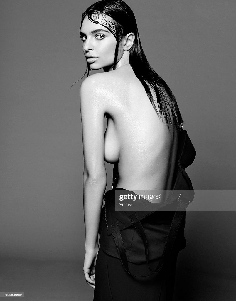 Model and actress Emily Ratajkowski is photographed for Sports Illustrated on March 13, 2015 in Los Angeles, California.