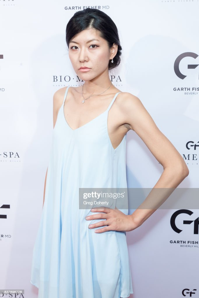 Model and Actress Hazuki Kato attends the Official Launch Party Of Dr. Garth Fisher's BioMed Spa at Garth Fisher MD on August 22, 2017 in Beverly Hills, California.