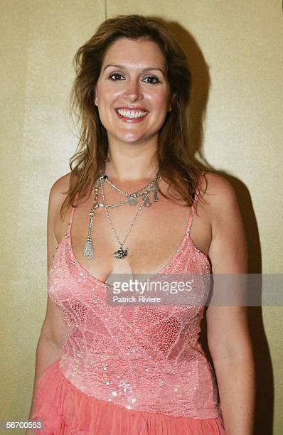 Model and Actress Kate Fischer attends the Screen Actors Guild Awards Party at The Establishment on January 30 2006 in Sydney Australia
