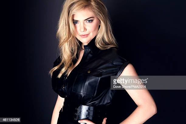 Model and actress Kate Upton is photographed at the 2014 People Magazine Awards portrait studio on December 18 2014 in Los Angeles California