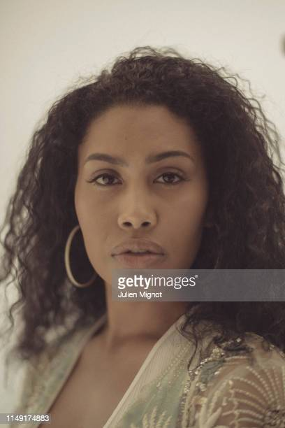 Model and actress Leyna Bloom poses for a portrait on May 18 2019 in Cannes France