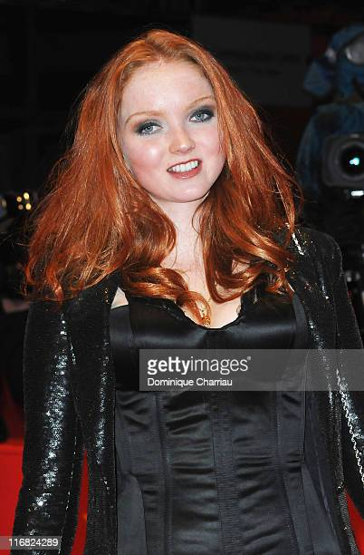 Model and actress Lily Cole attends the Rage premiere during the 59th Berlin International Film Festival at the Berlinale Palast on February 8 2009...