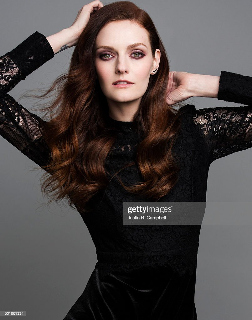 Model and actress Lydia Hearst is photographed for Just Jared on November 12, 2015 in Los Angeles, California.