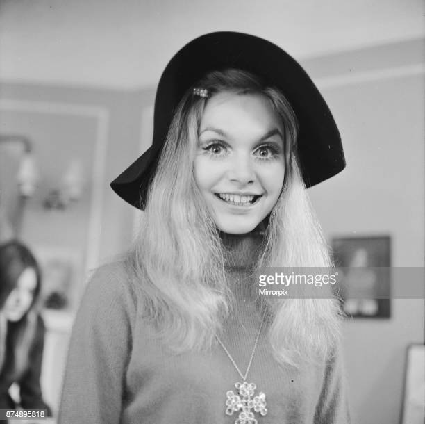 Model and actress Madeline Smith attends the launch of the new Alma 69 the illustrated guide for nearly 600 fashion models male and female who work...