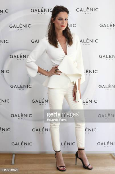 Model and actress Mar Saura attends the 'Galenic' presentation at Pons Fundation on May 23 2017 in Madrid Spain