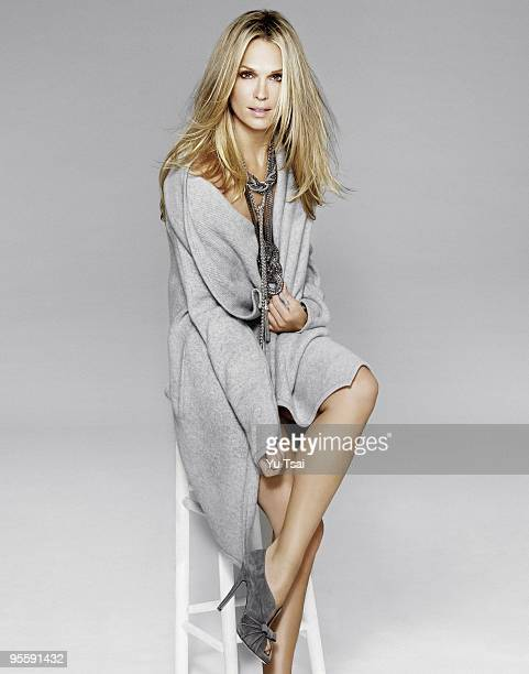 Model and Actress Molly Sims is photographed for Aspen Peak Magazine PUBLISHED IMAGE