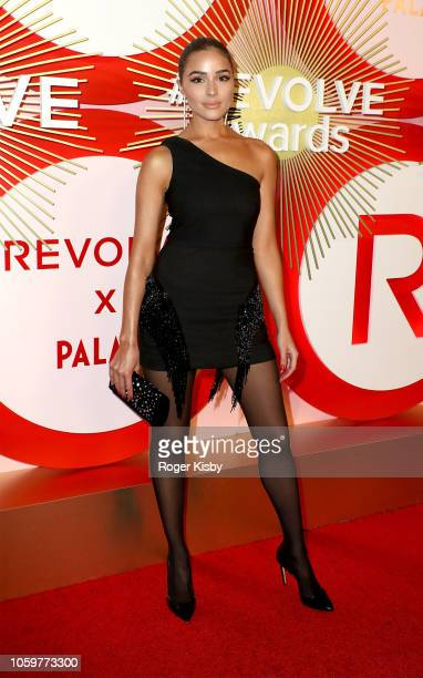 Model and actress Olivia Culpo attends Revolve's second annual #REVOLVEawards at Palms Casino Resort on November 9 2018 in Las Vegas Nevada