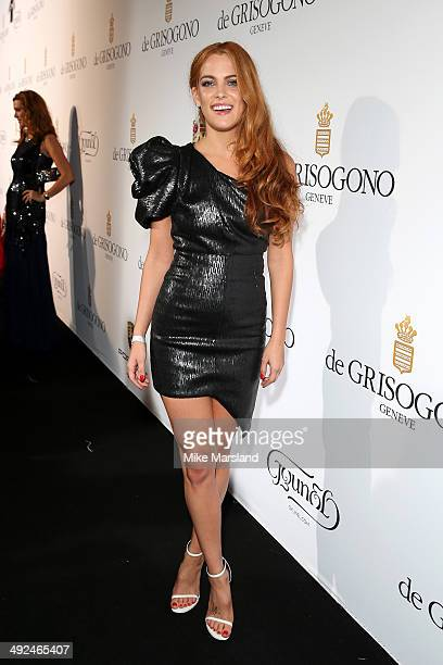 Model and actress Riley Keough attends the De Grisogono dinner party in collaboration with Gyunel during Cannes film festival at Hotel du CapEdenRoc...