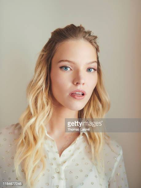 Model and actress Sasha Luss poses for a portrait on June 24 2019 in Paris France