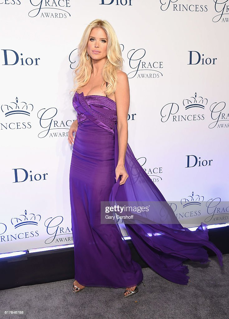 Model and actress Victoria Silvstedt attends the 2016 Princess Grace Awards Gala at Cipriani 25 Broadway on October 24, 2016 in New York City.
