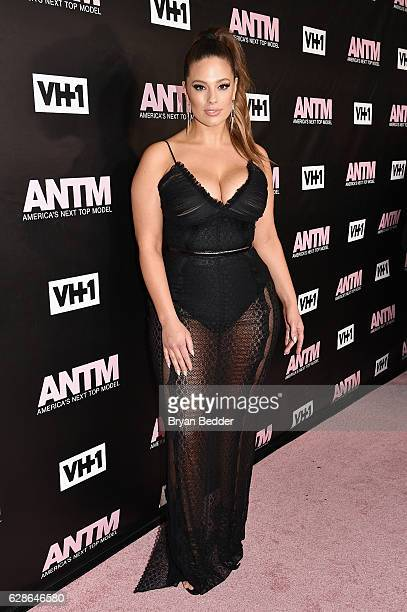 Model and ANTM Judge, Ashley Graham attends the VH1 America's Next Top Model premiere party at Vandal on December 8, 2016 in New York City.