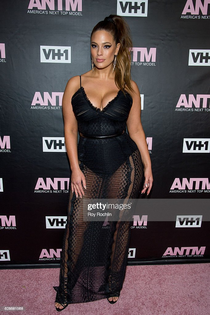 Model and ANTM Judge, Ashley Graham attends VH1's 'America's Next Top Model' Premiere at Vandal on December 8, 2016 in New York City.
