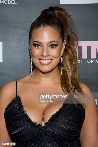 "Model and ANTM Judge, Ashley Graham attends VH1's ""America's Next Top Model"" Premiere at Vandal on December 8, 2016 in New York City."
