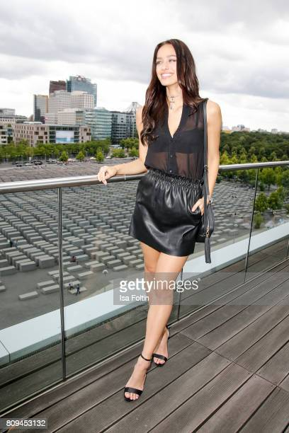 Model and blogger Jueli Mery attends the Thomas Sabo Press Cocktail during the MercedesBenz Fashion Week Berlin Spring/Summer 2017 at China Club on...
