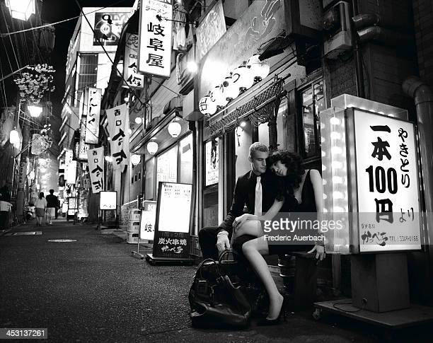 Model and boxer Will Chalker is photographed for Wallpaper on June 1 2004 in Tokyo Japan PUBLISHED IMAGE
