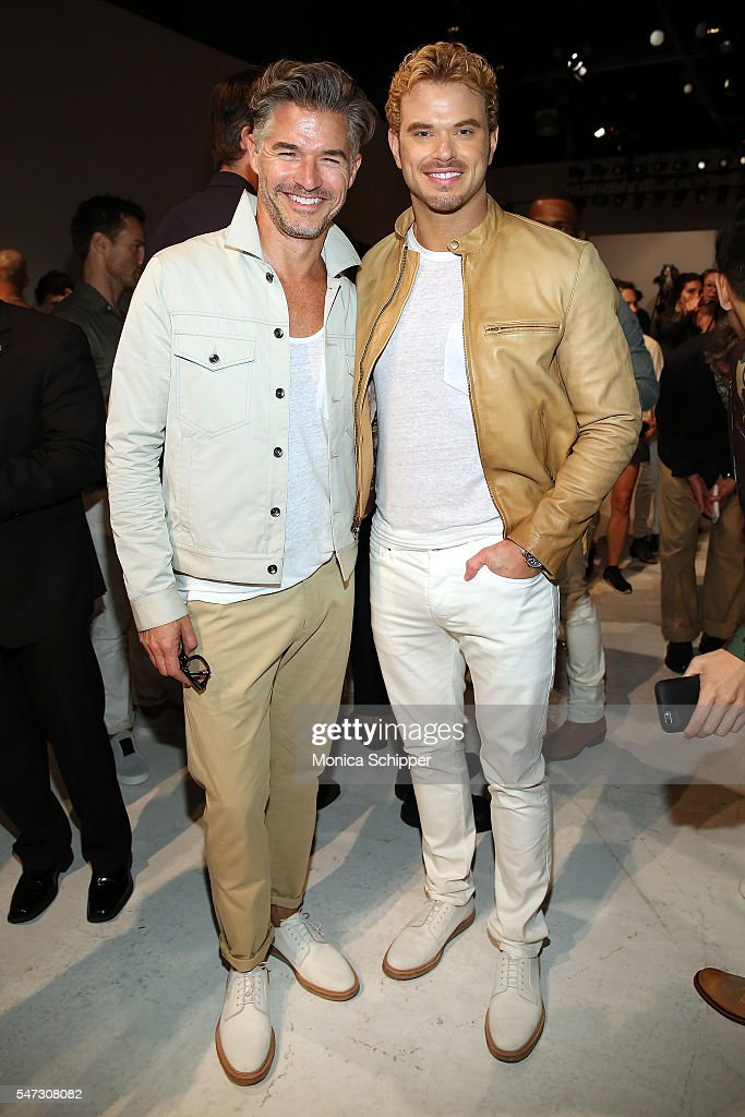 NY: Todd Snyder - Front Row - New York Fashion Week: Men's S/S 2017