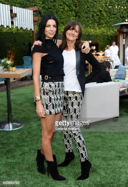 Model and designer Liberty Ross and Bunty Ross attend GENETIC x Liberty Ross Launch on August 22 2014 in Beverly Hills California