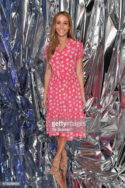 Model and DJ Harley Viera-Newton attends the Nine West Throwback 40th Anniversary Celebration hosted by Olivia Culpo at The VNYL on February 6, 2018...