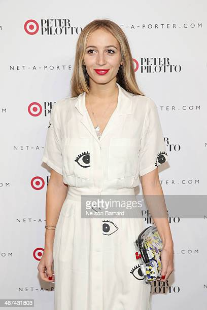 Model and DJ Harley VieraNewton attends the PETER PILOTTO for Target launch event on February 6 2014 in New York City