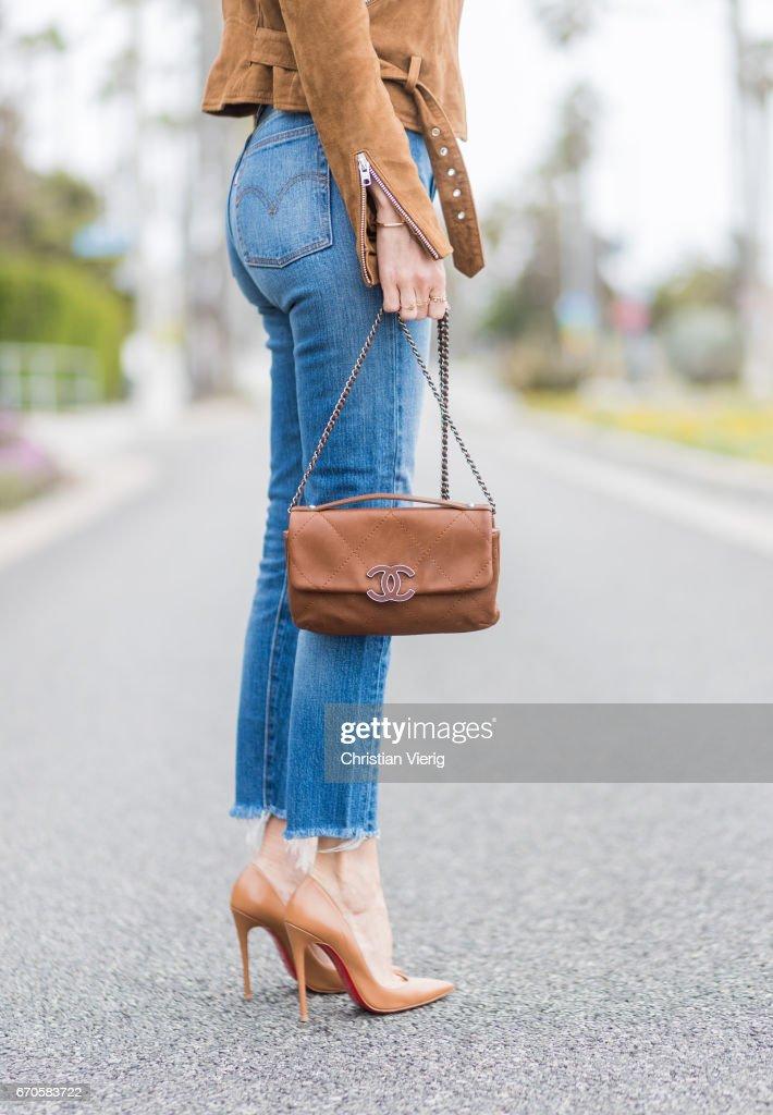 Street Style - Los Angeles - April 2017 : News Photo