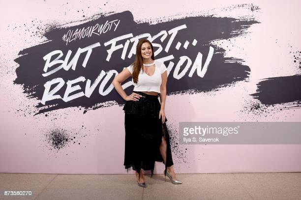 Model and host Ashley Graham during Glamour Celebrates 2017 Women Of The Year Live Summit at Brooklyn Museum on November 13 2017 in New York City