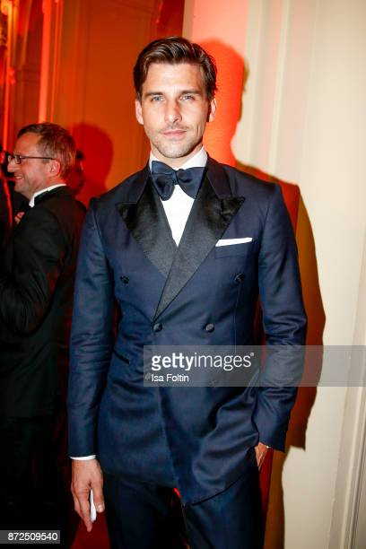 Model and influencer Johannes Huebl attends the GQ Men of the year Award 2017 after show party at Komische Oper on November 9 2017 in Berlin Germany