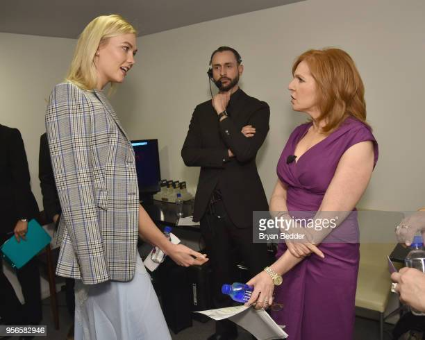 Model and Kode With Klossy Founder Karlie Kloss and Fox Business Network Anchor Liz Claman attend the Fifth Annual Town Country Philanthropy Summit...