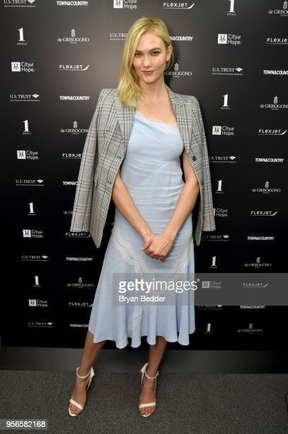 Model and Kode With Klossy Founder Karlie Kloss attends the Fifth Annual Town Country Philanthropy Summit on May 9 2018 in New York City