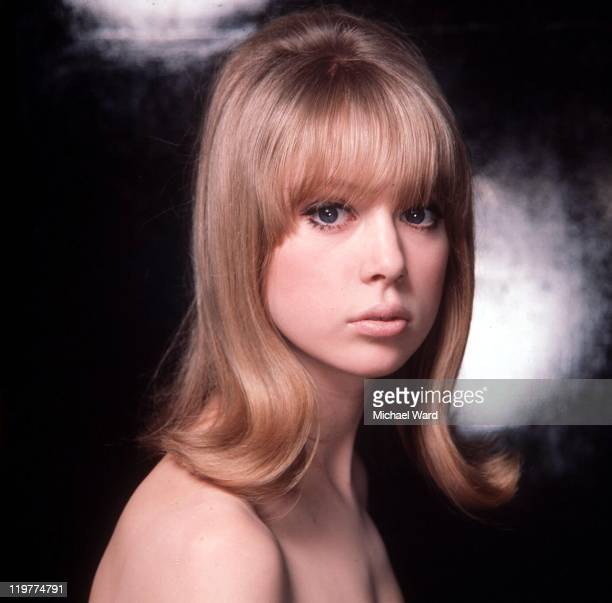 Model and photograher Pattie Boyd, 1964. Boyd was married to George Harrison and Eric Claption.