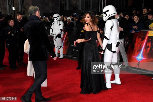 Model and presenter Myleene Klass attends the European Premiere of 'Star Wars The Last Jedi' at Royal Albert Hall on December 12 2017 in London...