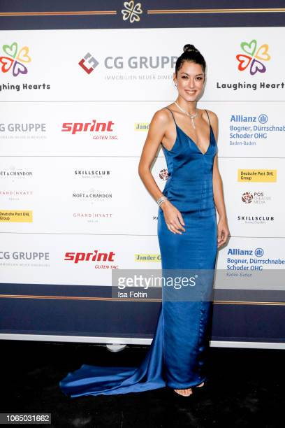 Model and presenter Rebecca Mir during the 10th Laughing Hearts Charity Gala at Grand Hyatt Hotel on November 24 2018 in Berlin Germany