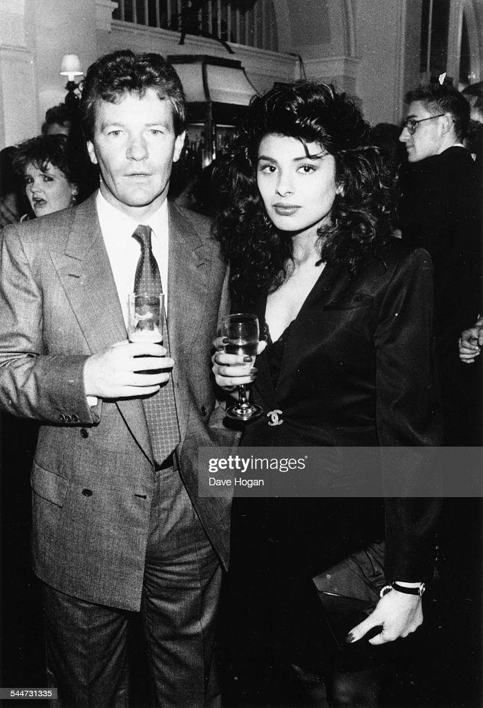 44159927 Model and socialite Pamella Bordes and comedian Jim Davidson, at an ...
