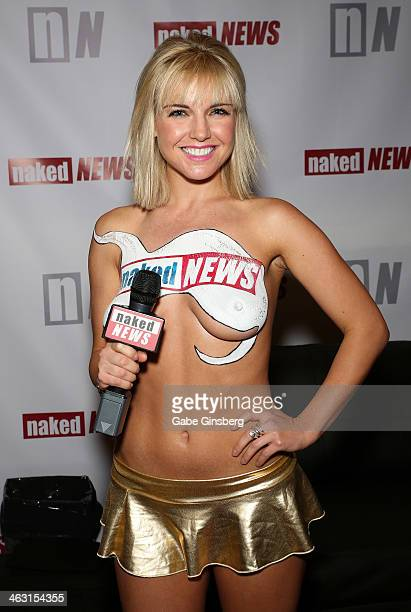 Model and television personality Eila Adams attends the 2014 AVN Adult Entertainment Expo at the Hard Rock Hotel Casino on January 16 2014 in Las...