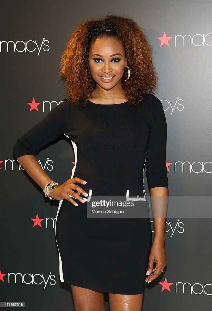 Cynthia Bailey Visits Macy's Downtown Brooklyn