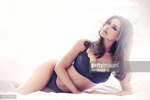 Model and tv presenter Kelly Brook is photographed for New Look on July 26 2012 in London England