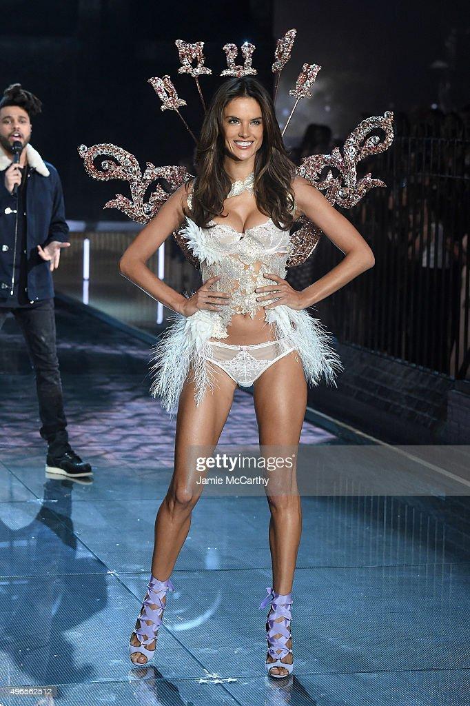 e9e4cc00ec4af Model and Victoria s Secret Angel Alessandra Ambrosio from Brazil ...