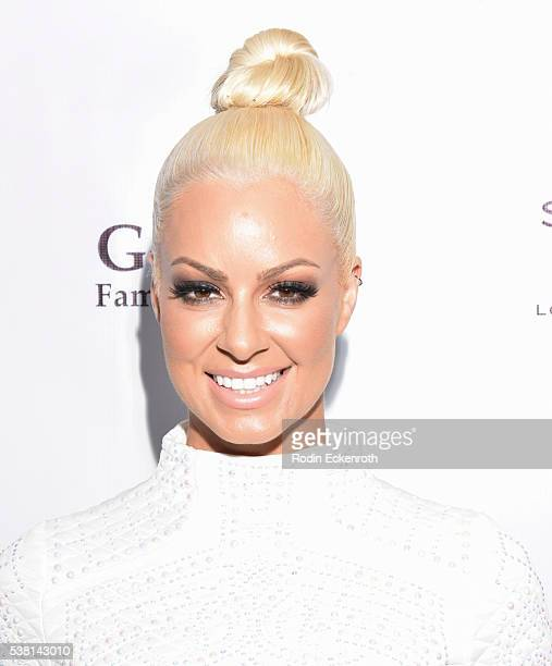 Model and WWE Superstar Maryse Ouellet arrives at Tower Cancer Research Foundation's 3rd annual Ante Up For a Cancer Free Generation Poker Tournament...