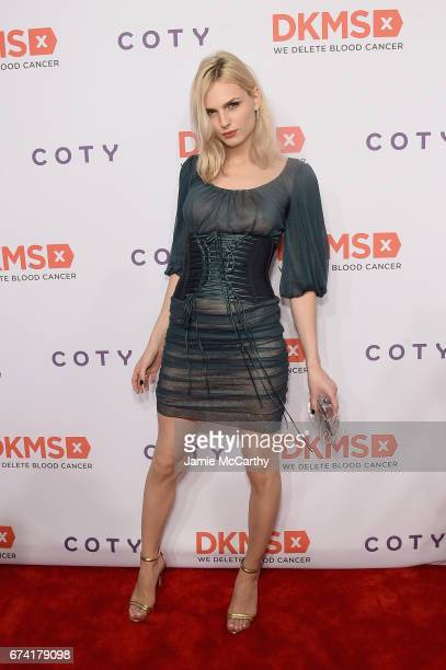 Model Andreja Pejic attends 11th Annual DKMS 'BIG LOVE' Gala on April 27 2017 in New York City