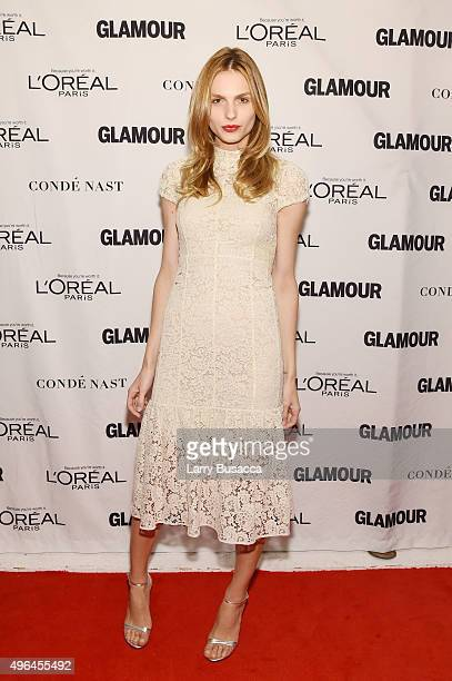 Model Andreja Pejic attends 2015 Glamour Women Of The Year Awards at Carnegie Hall on November 9 2015 in New York City