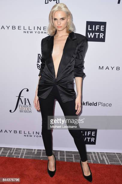 Model Andreja Pejic attends the Daily Front Row's Fashion Media Awards at Four Seasons Hotel New York Downtown on September 8 2017 in New York City